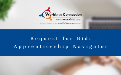 The Workforce Connection Receives Apprenticeship Navigator Grant – Request for Bid