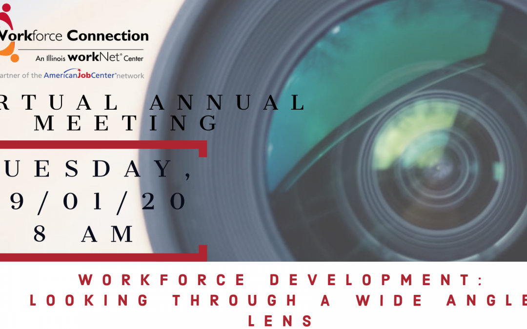 2020 Virtual Annual Meeting: You're Invited!